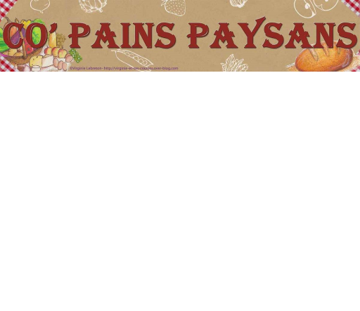 Co'Pains Paysans
